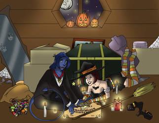 October Evo Calendar by JCRobin