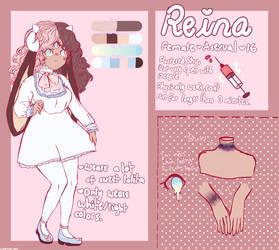 Reina Character Reference by PeachikaaRuu