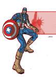 Captain America First Avenger by lav2k