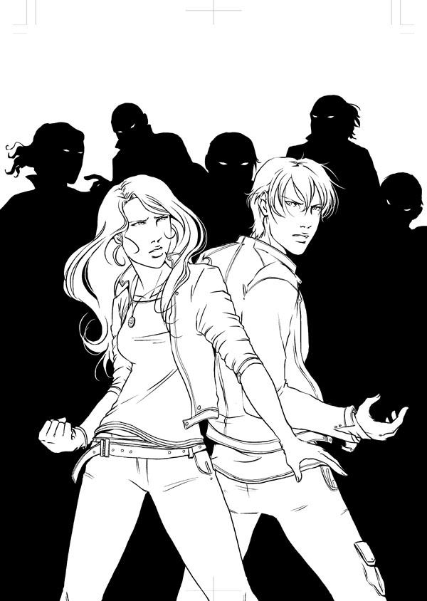 Frostbite cover inks by emmav