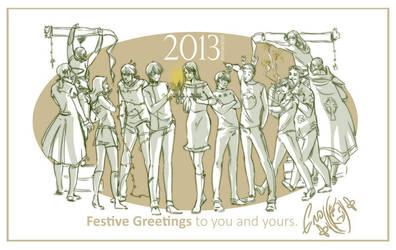 Festive wishes 2013 by emmav