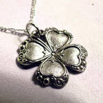 Lucky Clover Pendant Necklace by Om-Society