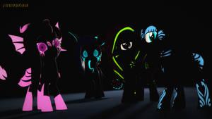 Glowy Pones by Narox22