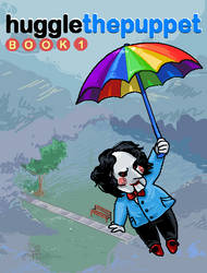 Huggle the Puppet Book 1 Cover by Mrs-Crocker