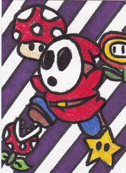 Shy Guy by ScribbledMissives