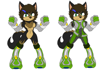 Codi Prower outfits colored by dirtthefox