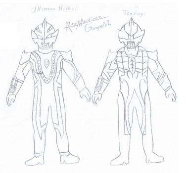 Ultramans 9 by Gonga01