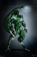 Biomech Scorpion by dorets