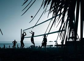 Evening volley by Zgan