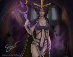 First Fanart Assignment Leblanc Splash by ekokun