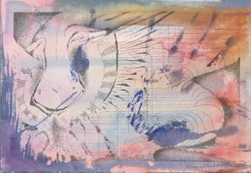 Pink worm by lilleblack