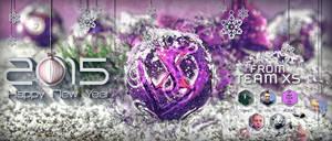 NewYear 2015 PheromoneXS Greetings by idlebg