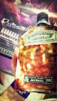 Jack Daniels - Gentleman Jack - Sparks by idlebg