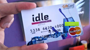 Credit card design - idle - Printed out 1 by idlebg