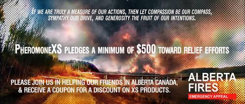 Alberta Canada Fires Charitable Appeal - XS by idlebg
