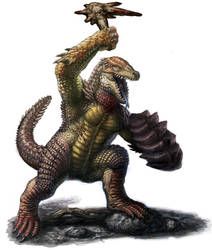 Reptilian Design: Female Final by DSil