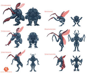 Insectoid Classes by DSil