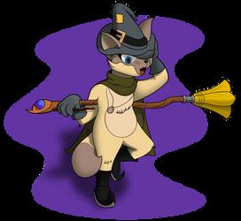 Winnie The Kitty Witch by FiMStargazer