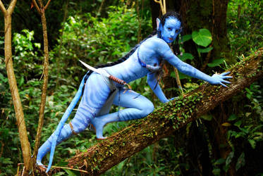 neytiri cosplay tree by Official-AmyFantasy