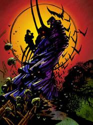 Batman 1 v1 - Calendar Art by Mikhel