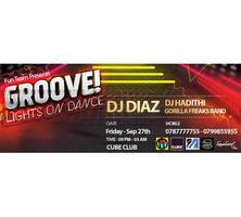 Cube Club - Groove Night Cover Design by SamoSoviet