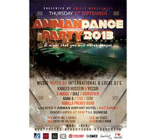 Amman Dance Party 2013 Flyer/Poster by SamoSoviet