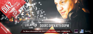 Dj Diaz Birthday Party Facebook Cover by SamoSoviet