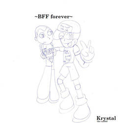 BFF forever by Creamtherabbitfan