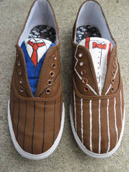 Doctor Who Shoes by Ittarius