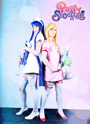 PaSwG Panty  Stocking nurses 2 by Shirokii