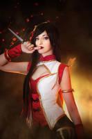 Katarina Warring Kingdoms IV - League of Legends by Shirokii