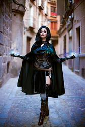 The Witcher 3 - Yennefer by Shirokii