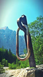 A giant carabiner by xcmrux