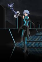 KH Tron Legacy Aqua by G-FalconDX