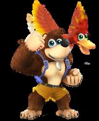 Banjo and Kazooie by MutationFoxy
