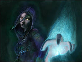Aurasuavis - Undead Priest by jezebel