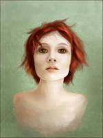 Redhead Sketchpaint by jezebel