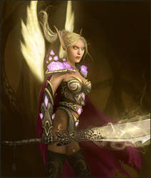 Emonator - Blood Elf Paladin by jezebel