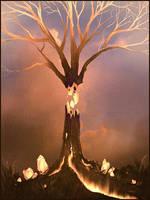 Sketchpaint Tree by jezebel