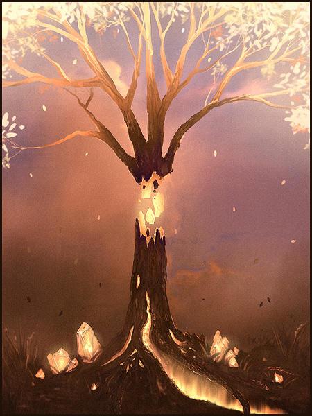 Sketchpaint Tree 2 by jezebel