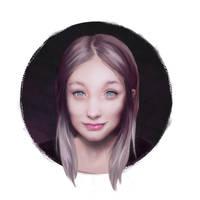 Reddit Girl Portrait by jezebel