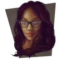 Reddit Girl Portrait 3 by jezebel