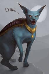 Lying Cat - Saga by jezebel