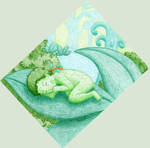 Nap in the forest by Neruall