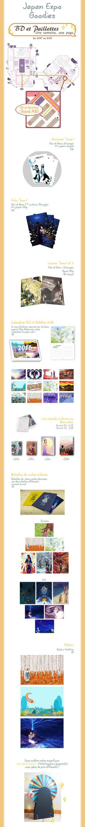 Paillettes pour la Japan Expo 2015 by Neruall