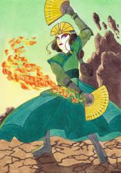 Avatar Kyoshi by Neruall