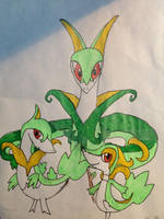 My favorite starters of all time. by Canoir