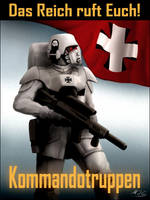Das Reich Recruitment Poster by mikkow