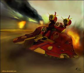 Warhammer: Shadow Spinner by mikkow