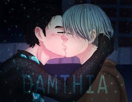 Yuri on ice by marrua-chan